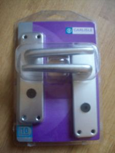 Aluminium Bathroom Privacy Wc Bathroom Lever Door Handles